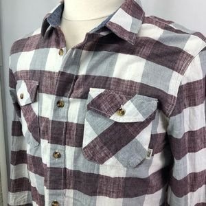 Vans tailored fit buttoned casual cotton shirt SzM